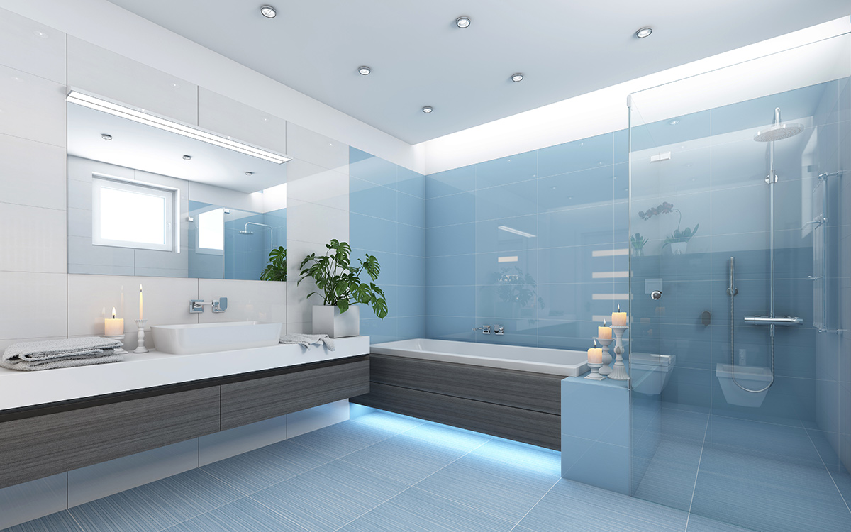 Hot 2018 trends in bathroom design and decor for Bath remodel 2017