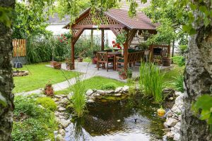 garden-rock-waterfall-Backyard-Ideas